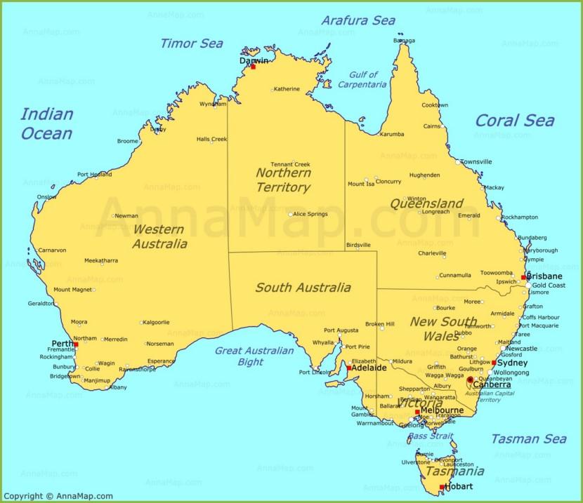 South Melbourne Beach Map
