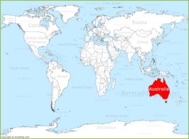 Australia Map Map Of Australia Annamap Com