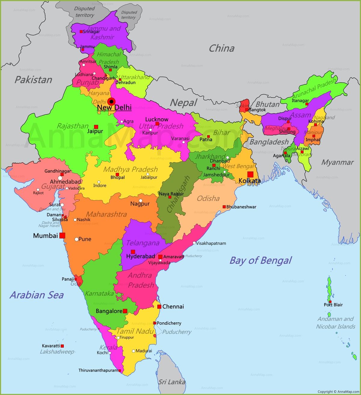 India Map | Map of India - AnnaMap.com on maharashtra map, korea map, california map, africa map, brazil map, russia map, karnataka map, time zone map, texas map, australia map, japan map, andhra pradesh map, china map, france map, sri lanka map, indian subcontinent map, canada map, europe map, arabian sea map,