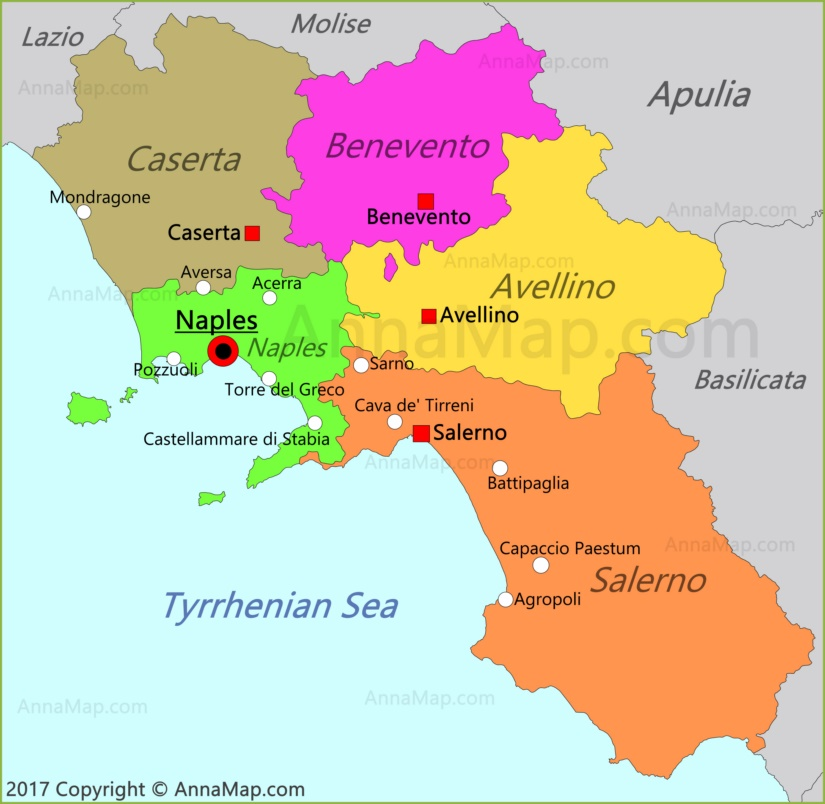 Google Maps Italy Benevento - Free Usa Maps