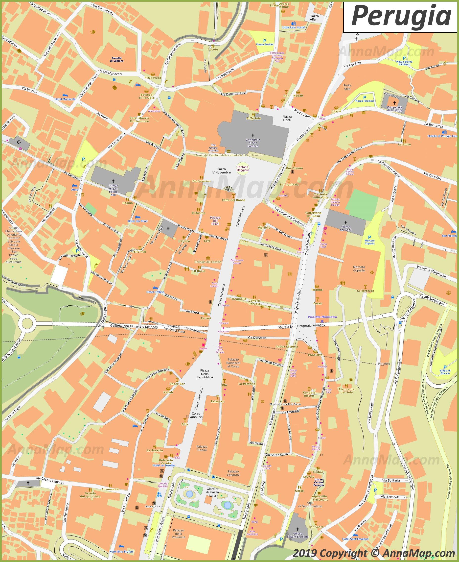 Cartina Turistica Napoli Centro Storico